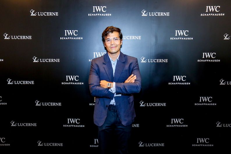 Friend Of IWC Erwan Heussaff