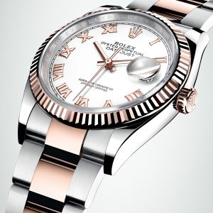 Rolex Datejust 36 Everose Gold rolex baselworld 2018