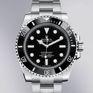 Rolex Submariner luxury watch materials