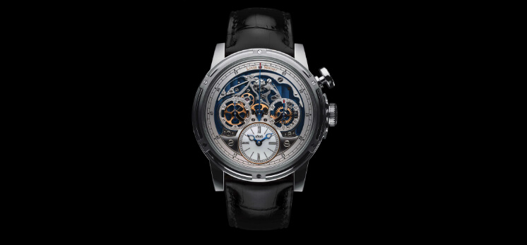 Louis Moinet Memoris Chronograph watch parts