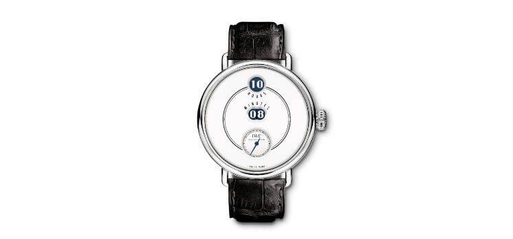 IWC Tribute to Pallweber Edition '150 Years' historical watches