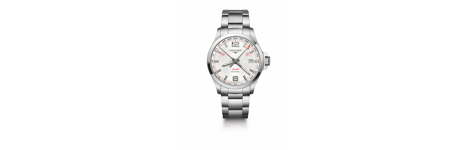 For the Jet Setter: Longines Conquest V.H.P. L3.728.4.76.6