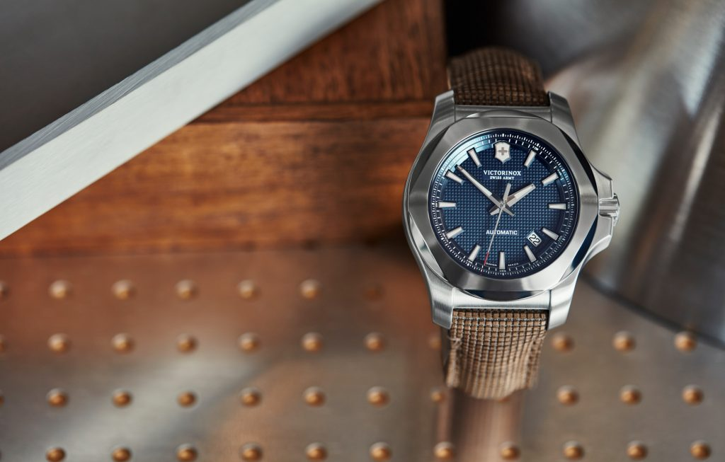 INOX Mechanical Blue Dial