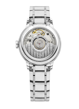 Classima Mother-of-Pearl Automatic with Diamond-Set Bezel M0A10479 caseback