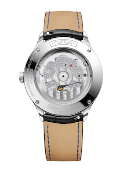 Clifton Baumatic COSC Blue Dial Leather M0A10467 caseback