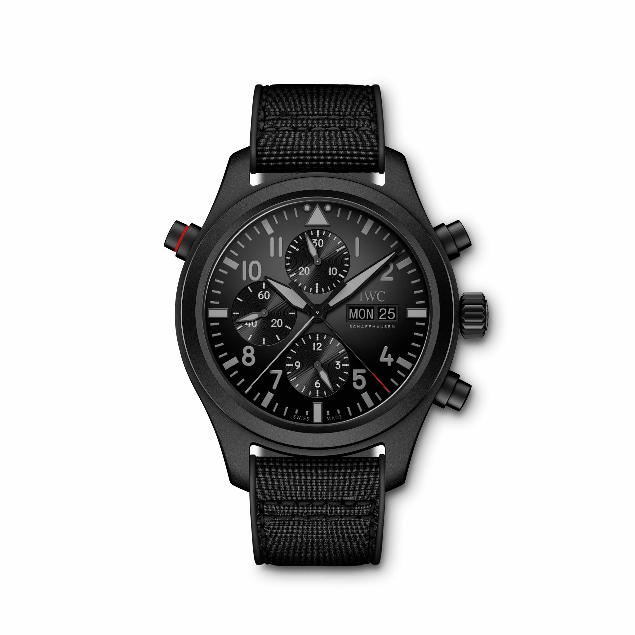 IW371815 Pilot's Watch Double Chronograph TOP GUN Ceratanium