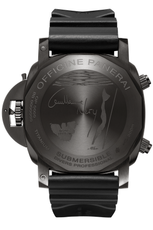 Panerai Submersible Guillame Néry Edition PAM00983 caseback