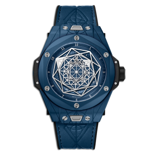 Hublot Big Bang Sang Bleu Blue Ceramic luxury watch