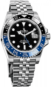 "Rolex GMT-Master II ""Batman"" luxury watch"