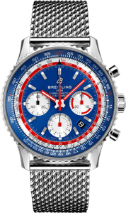 Breitling Navitimer 1 B01 Chronograph 43 Airline Edition Pan Am Edition Ref. AB01212B1C1A1 luxury watch breitling baselworld 2019