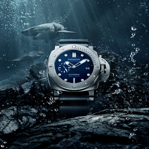 panerai luxury watch diving watch