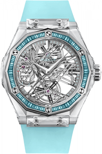 Hublot Classic Fusion Tourbillon Sapphire Orlinski luxury watches for a cause