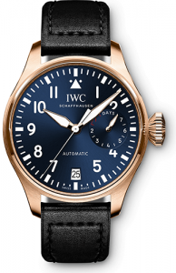 IWC Schaffhausen Big Pilot's Watch Single Piece Ref. IW500923 luxury watches for a cause