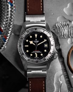 Tudor Black Bay P01 front