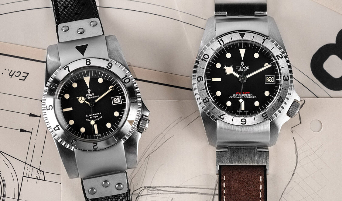 2 Tudor Black Bay P01 models