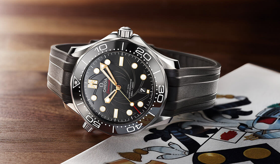 Omega Seamaster Diver 300M James Bond edition banner