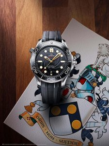 Omega Seamaster Diver 300M James Bond special edition