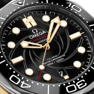 Omega Seamaster Diver 300M James Bond special edition dial