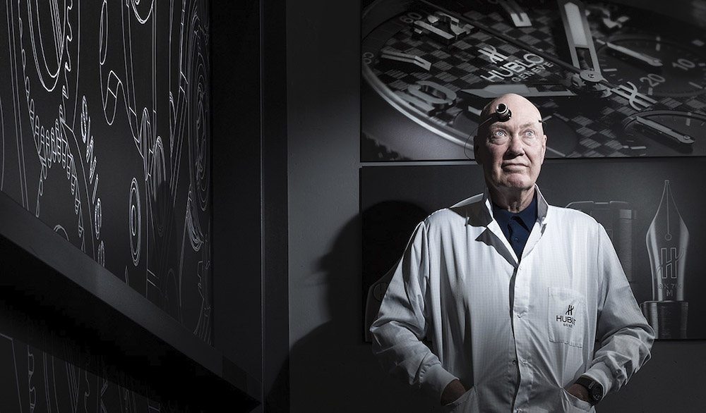 Jean-Claude Biver Chairman of Hublot and President of the LVMH Watch Division