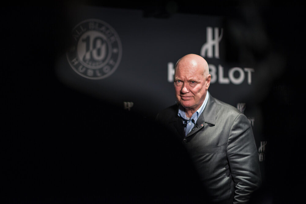 Jean-Claude Biver at Baselworld 2016 press con