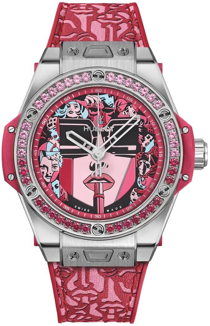 Hublot Big Bang One Click Marc Ferrero Red