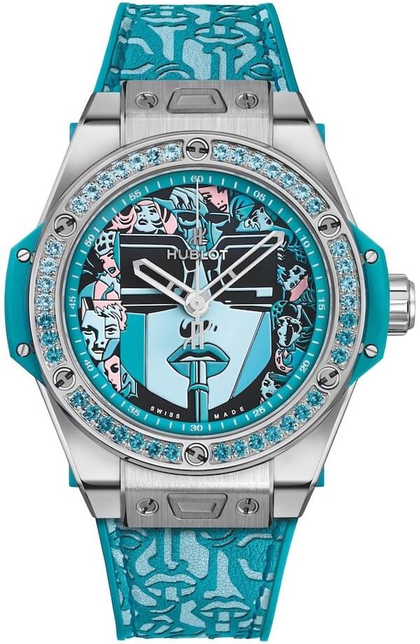 Hublot Big Bang One Click Marc Ferrero Turquoise