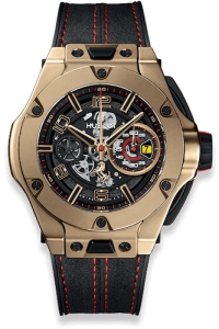 Hublot Big Bang Unico Ferrari Magic Gold luxury watch materials