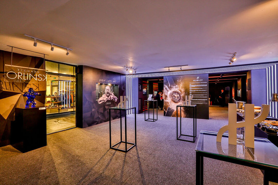 Hublot's The Art of Fusion exhibit