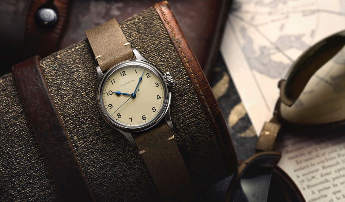 Longines Heritage Military banner