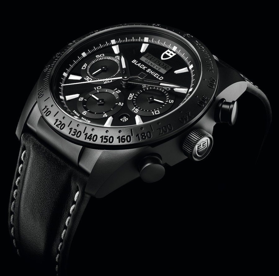 Tudor Fastrider Black Shield Chronograph