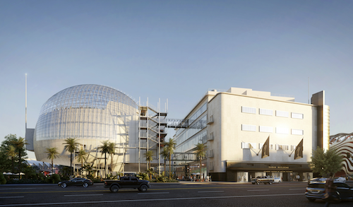 The Academy Museum of Motion Pictures, sponsored by Rolex