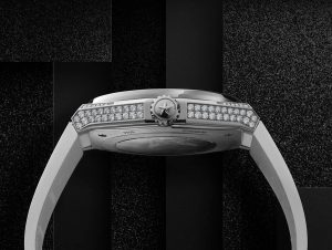 Zenith Defy Classic Rainbow case paved with diamonds