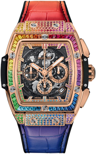 Hublot Spirit of Big Bang Rainbow chronograph
