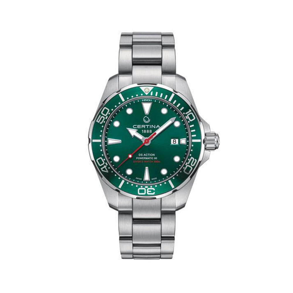 Certina DS Action Diver Green